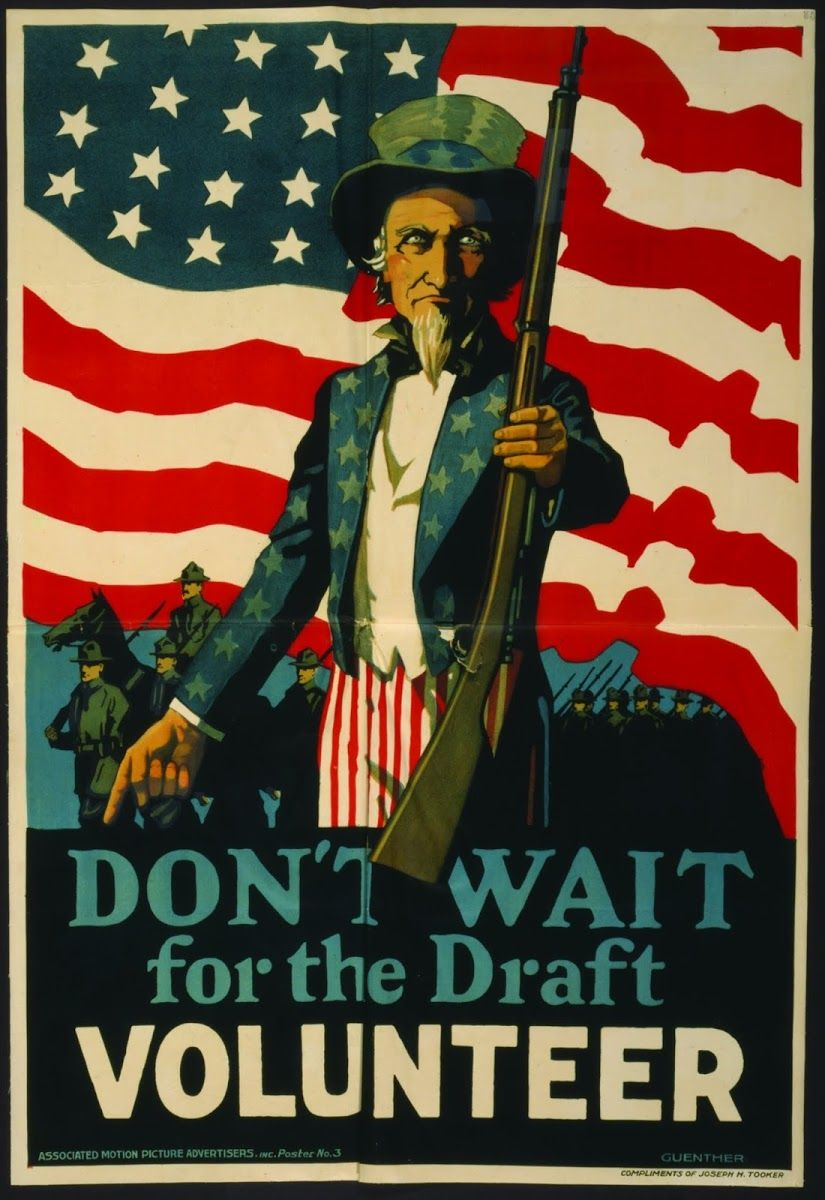 fc0f1ae81ad2 Don t Wait For The Draft--Volunteer