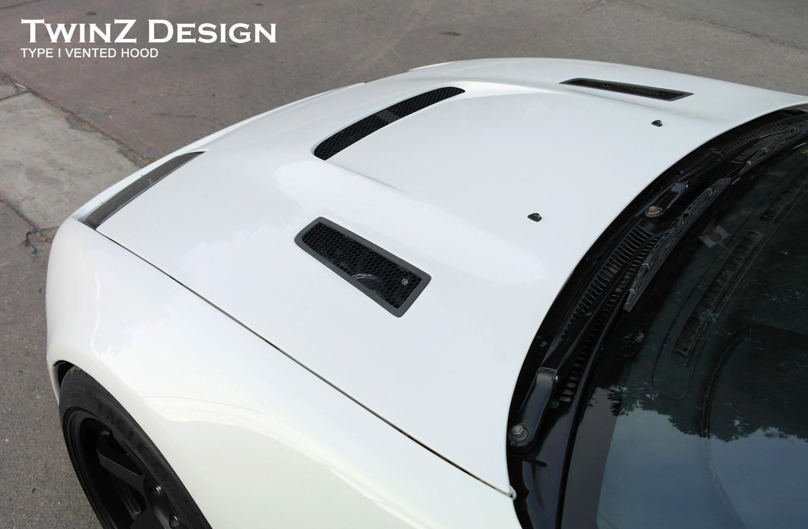 TwinZ Design Z32 Vented Hood (Type 1 & 2), Z1 Motorsports