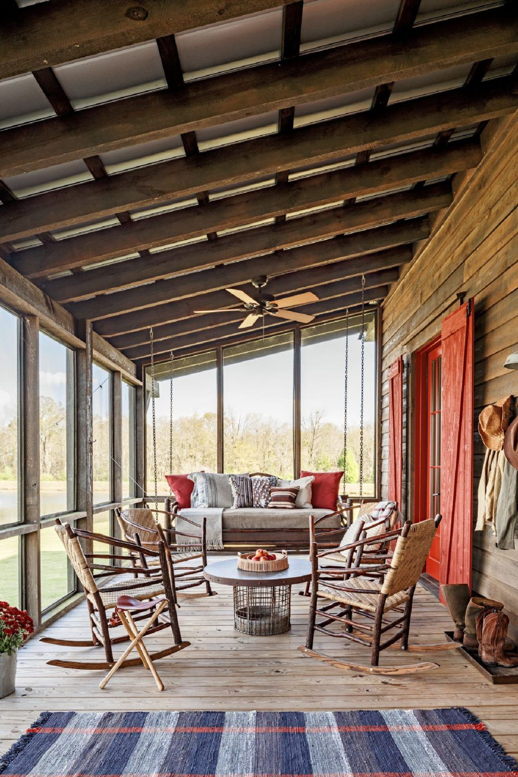 Best Screened in Porch Design Ideas (8 #rusticporchideas