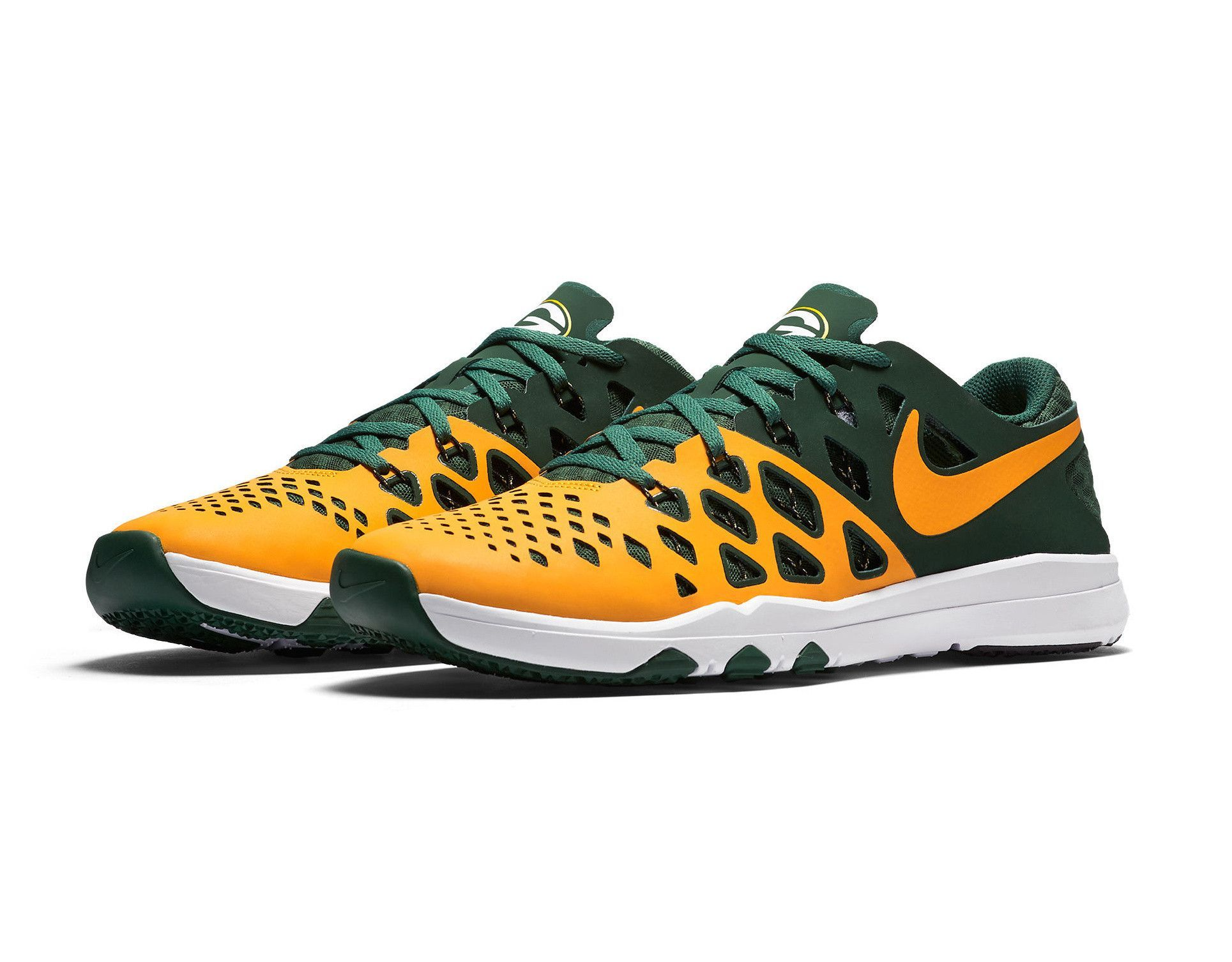 Green Bay Packers Nike Train Speed 4 Nfl Shoes Nfl Shoes Green Bay Packers Nike