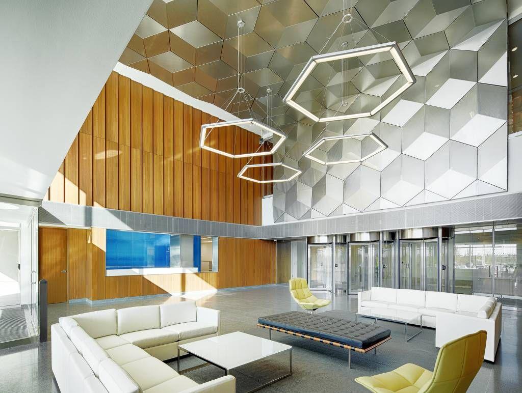 Best Interior Designer Hyssna Shaw contract Open office design