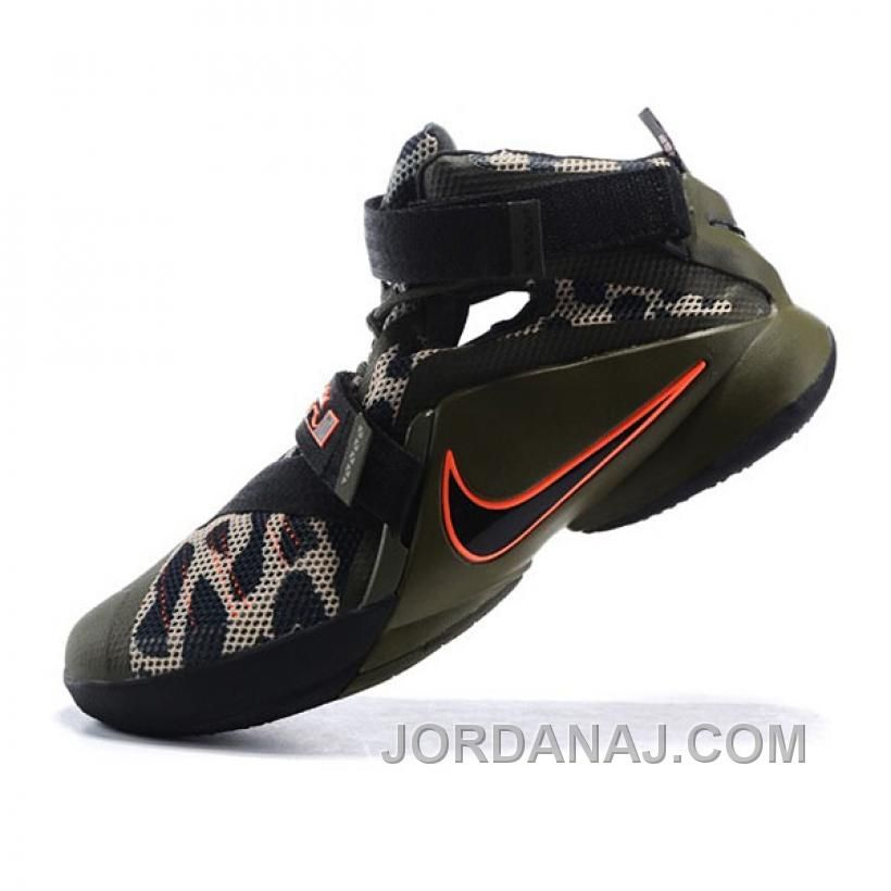 best website bfd4a 7985f ... canada buy nike lebron james soldiers 9 blackish green camo basketball  shoes from reliable nike lebron ...