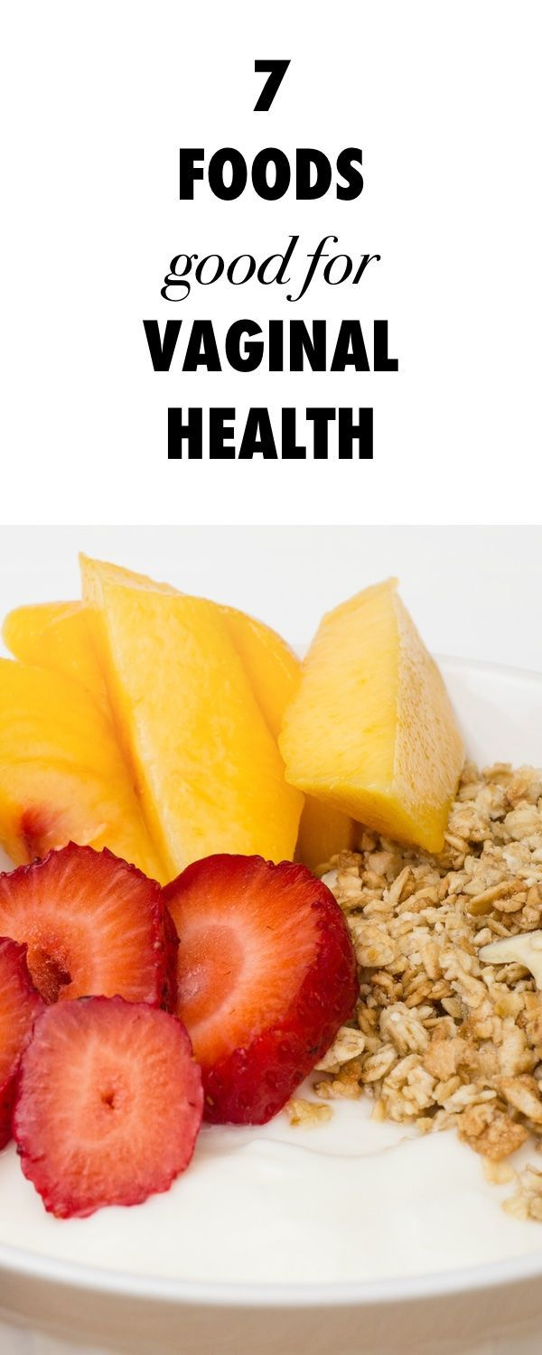 Speak foods for a healthy vagina topic