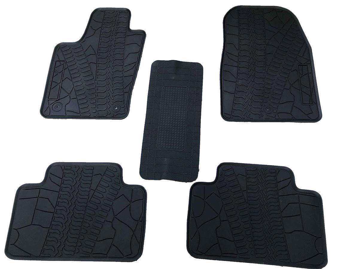 Black//Grey HEAVY DUTY Front Rear RUBBER CAR Floor MATS Jeep Patriot