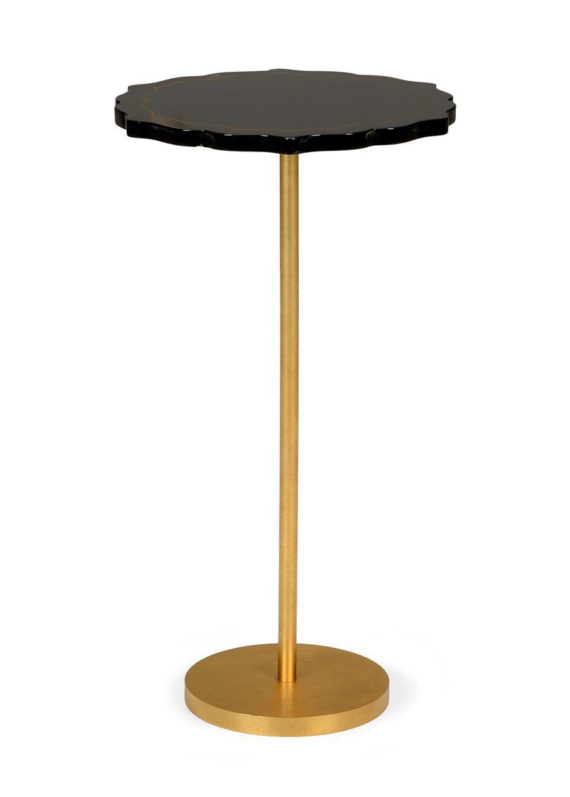 Best Chelsea House Black Side Table 382549 Black Side Table 400 x 300