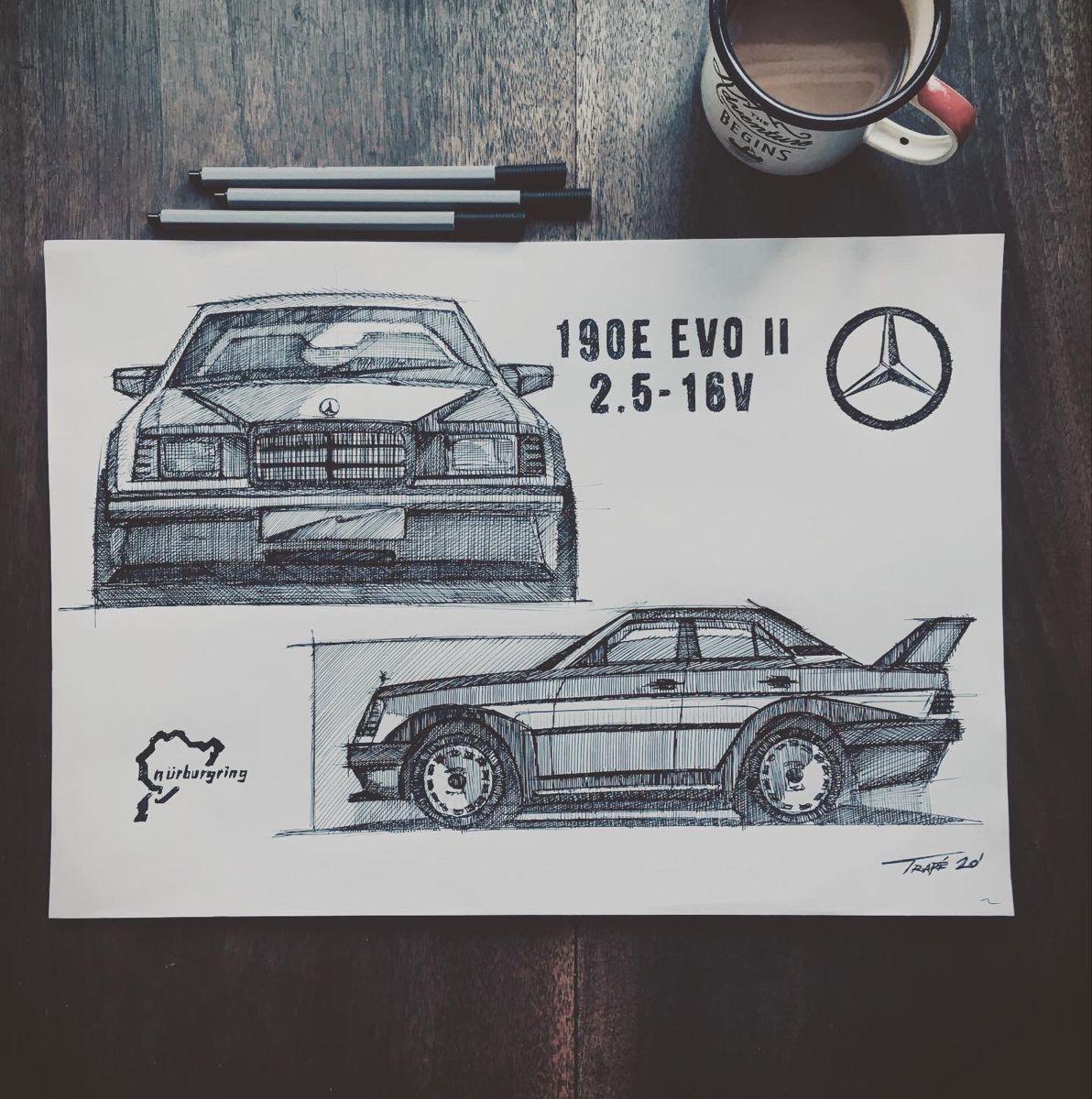 #mercedesbenz #mercedes #190e #190evolution #190evo2 #classiccars #youngtimer #savethemanuals #coolandvintage #petrolheadsketching #germancar #racing #dtm #tourism #nürburgring #coolcar #stuttgart #porsche #alfaromeo #amg #cardesign #cardesignmedia #cardesignnews #e30 #m3 #bmw #automotive #cardesigner