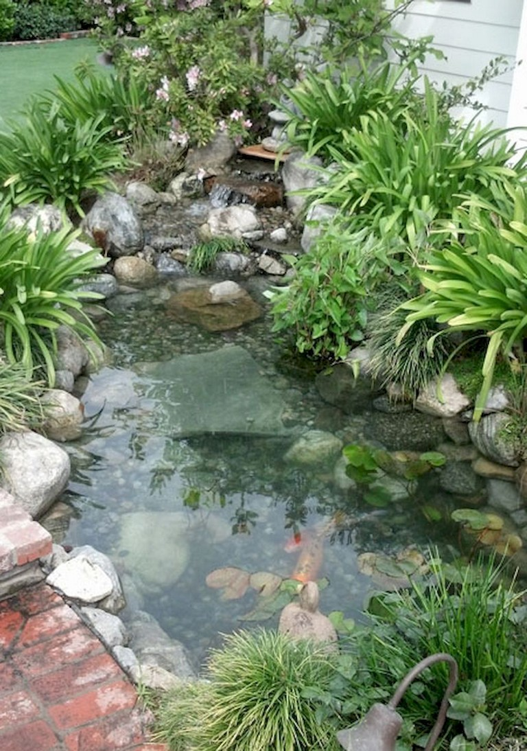 75 Exciting Backyard Ponds And Water Feature Landscaping Ideas