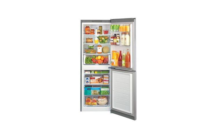 Lg Lbn10551ps 10 Cu Ft Bottom Mount Refrigerator Lg Usa Bottom Freezer Refrigerator Bottom Freezer Counter Depth Refrigerator