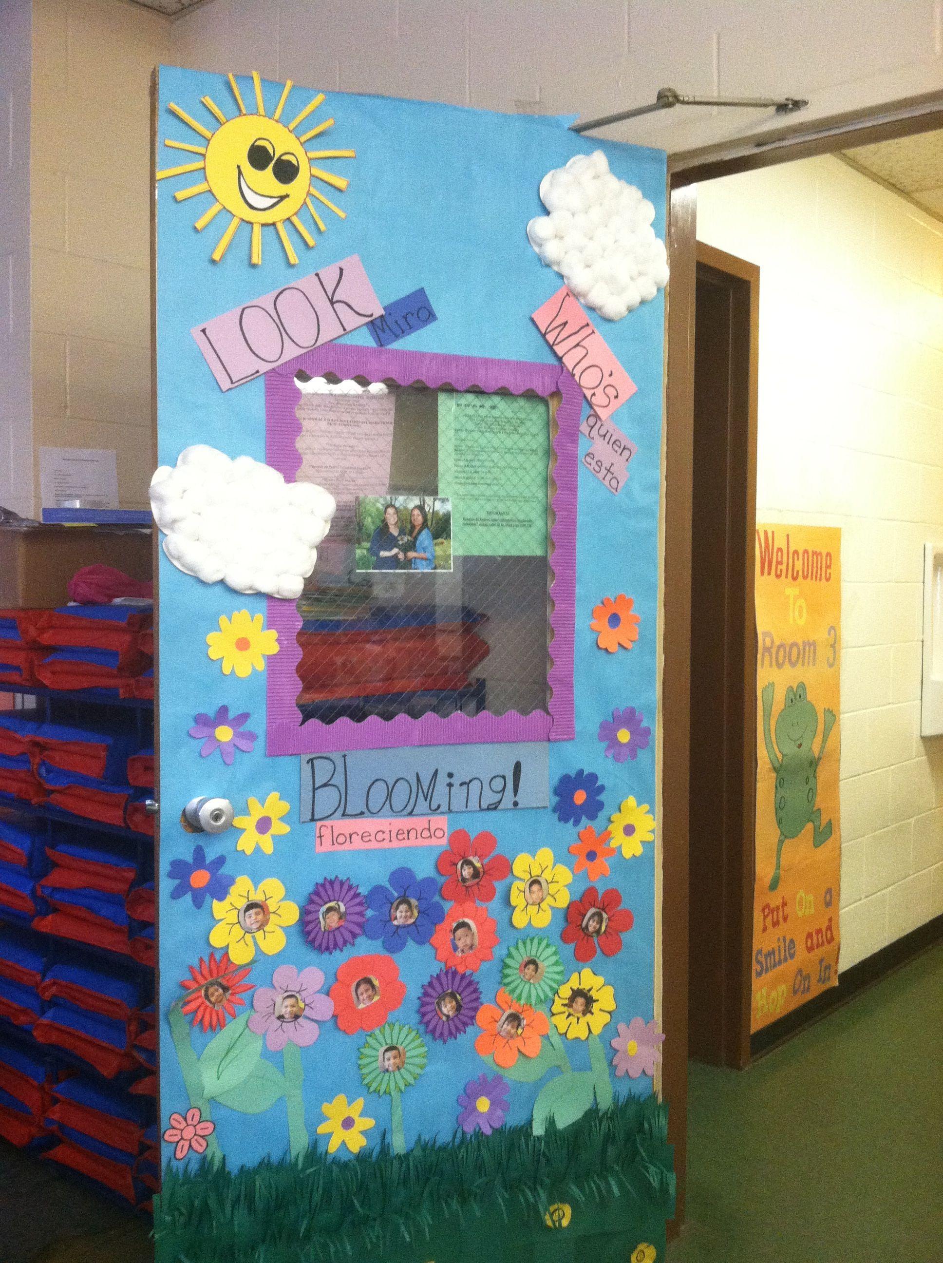 My Preschool Class Spring Door Decorations Preschool
