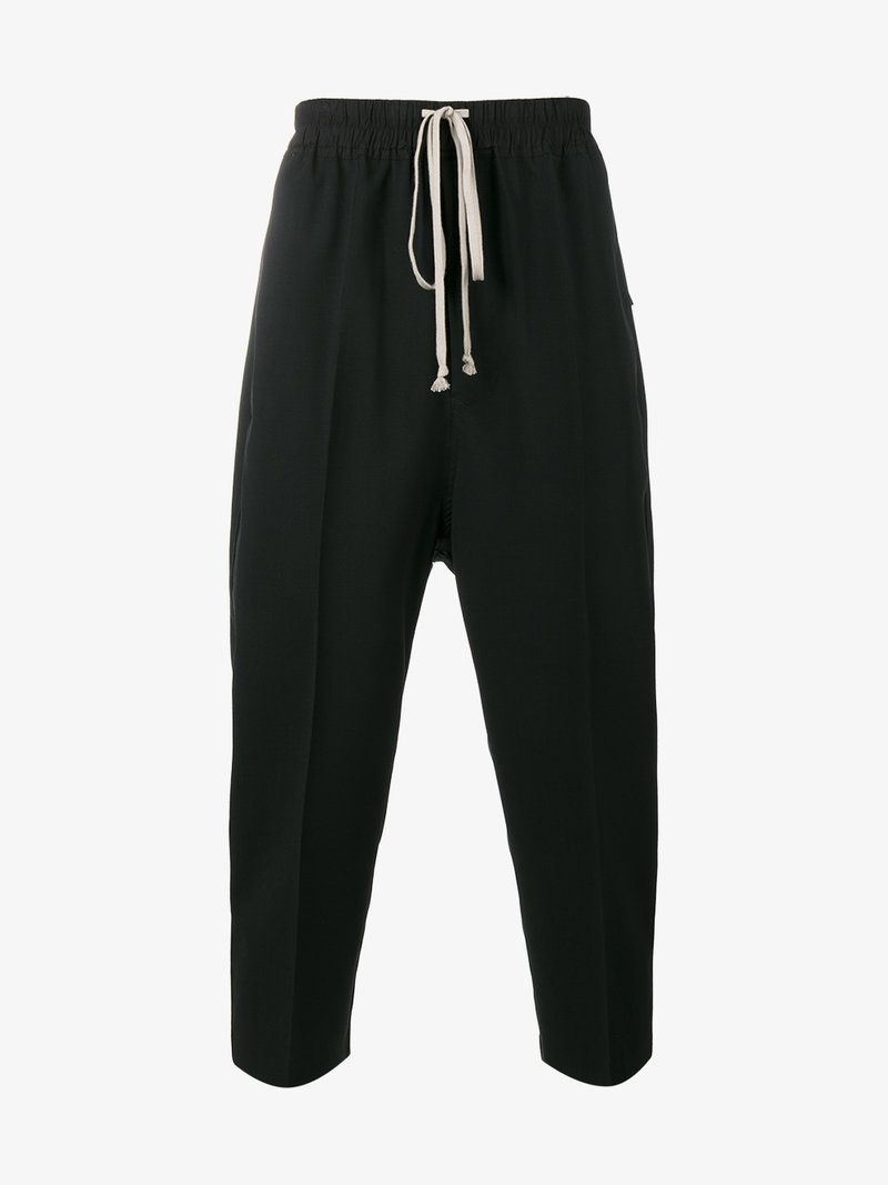 cropped drop crotch tailored trousers Rick Owens oCjwgI