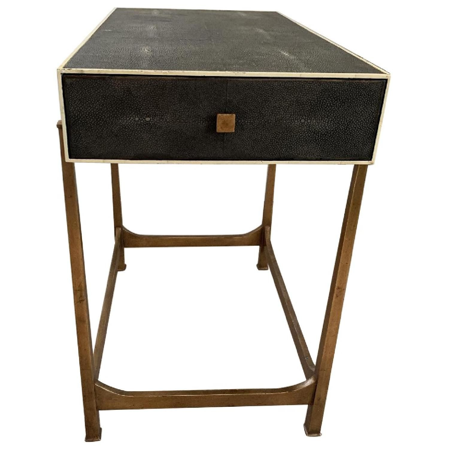 Safavieh Cleo Faux Shagreen End Tables Selling Furniture End Tables Shagreen