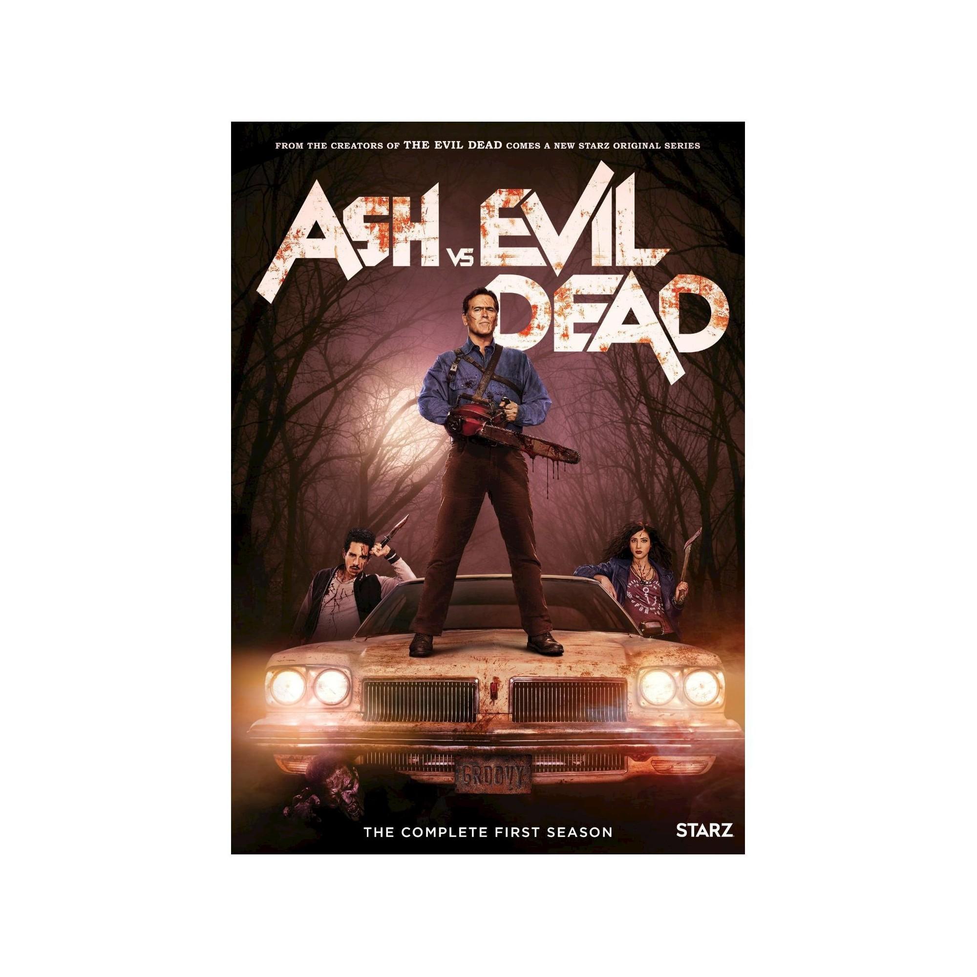 Ash Vs Evil Dead Season 1 Dvd Evil Dead Series Ash Evil Dead New Poster