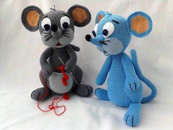 Häkelanleitung Lola, die Maus | Amigurumi Zoo | Pinterest | Die maus ...