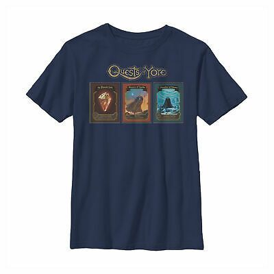 Onward Quests of Yore Playing Cards Boys Graphic T Shirt  Onward Quests of Yore Playing Cards Boys Graphic T Shirt