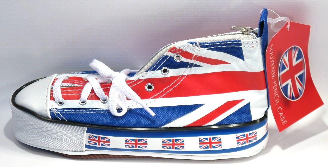 Trousse Scolaire Basket Drapeau Anglais Vans Authentic Sneaker Vans Sneaker Sneakers