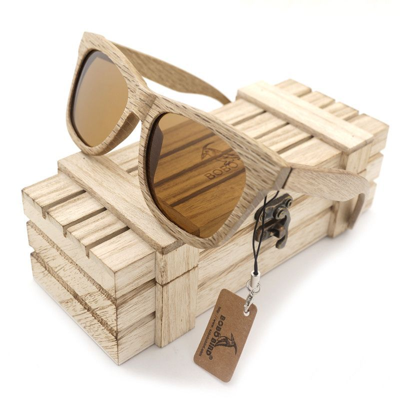BOBO BIRD Wooden Sunglasses G014