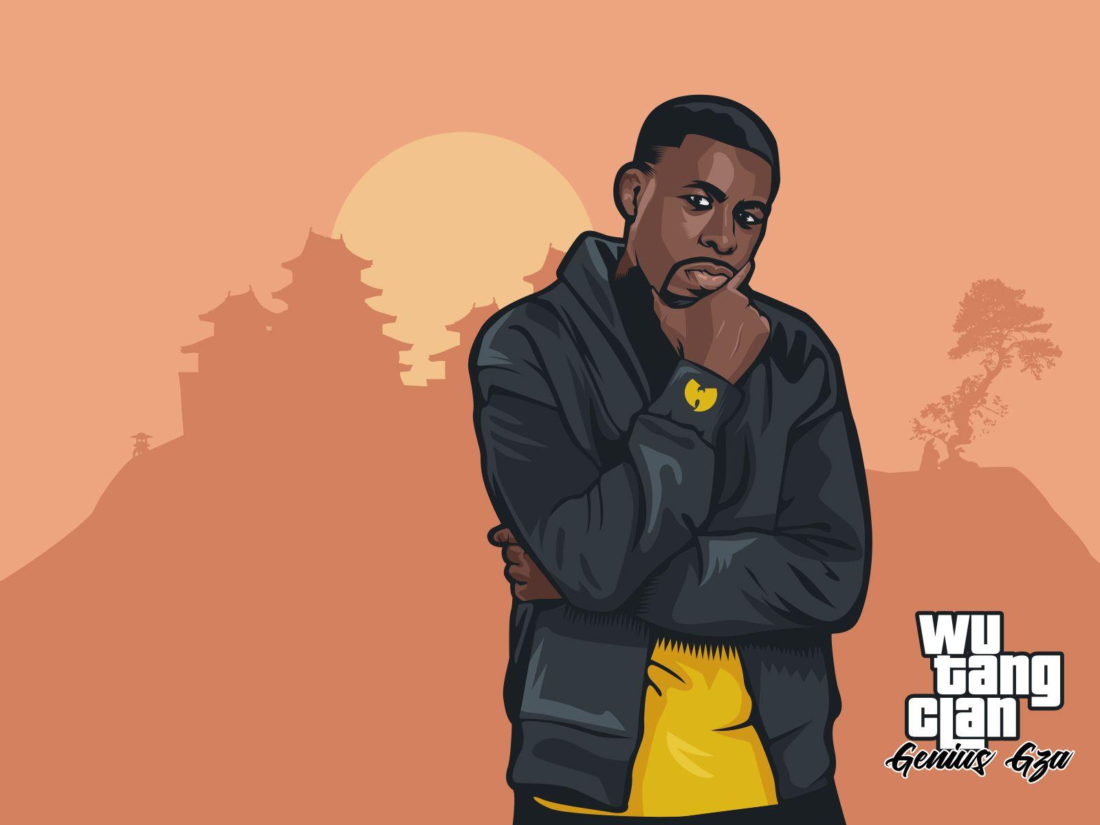 Gta X Wutang Gza Wu Tang Wu Tang Clan Hip Hop