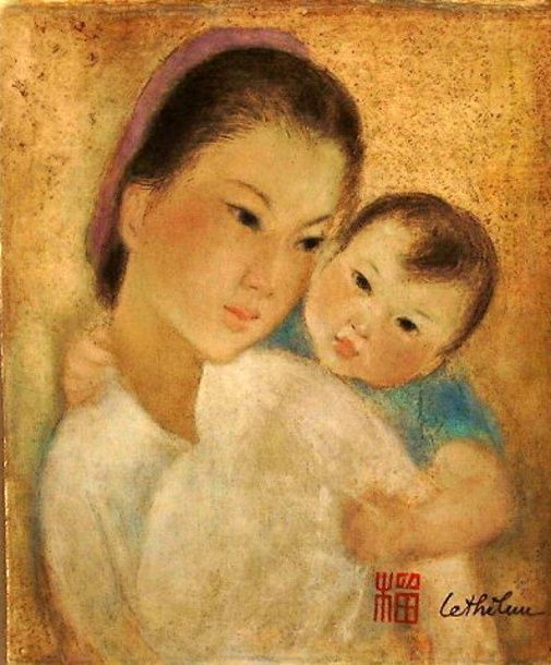 mother and child - Le Thi Luu