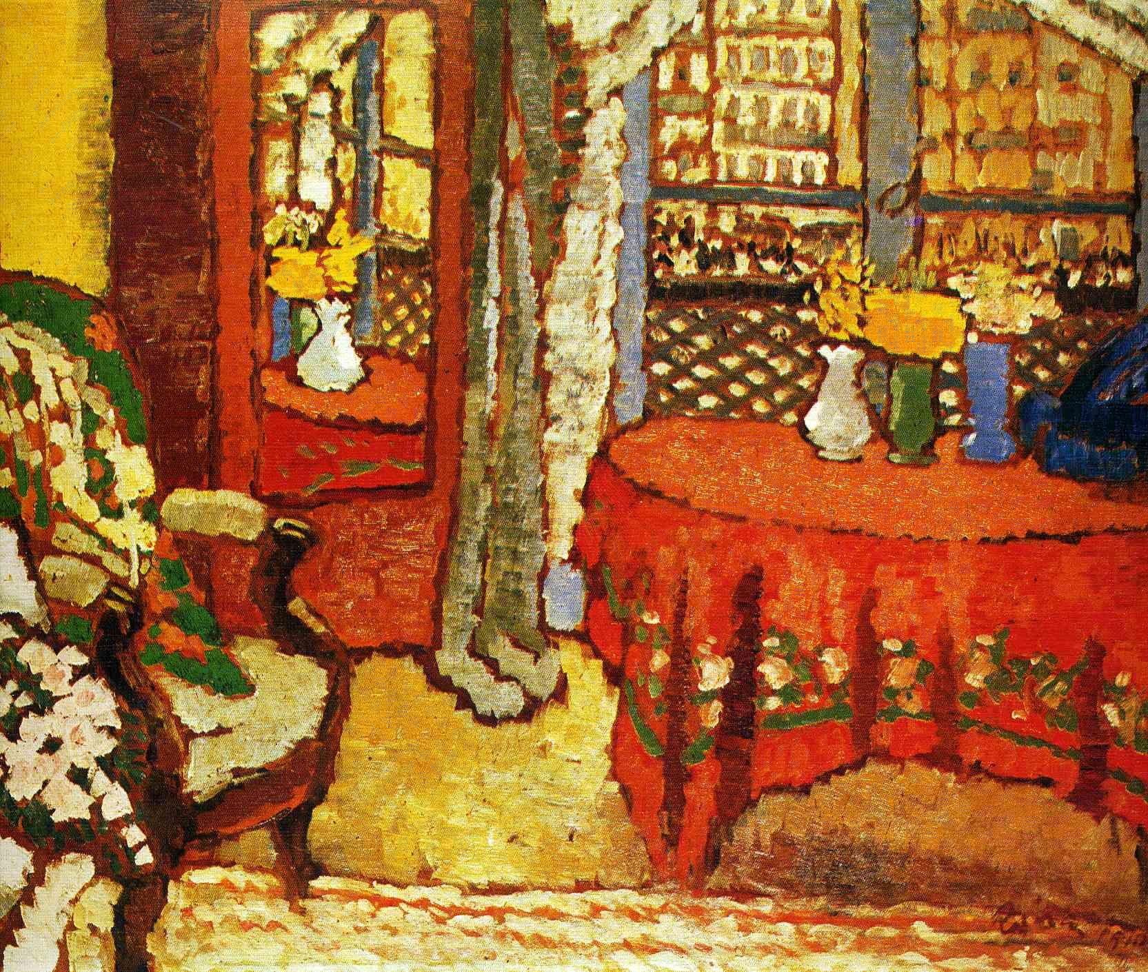 Rippl Ronai Jozsef Hungarian Painting Art Colorful Art