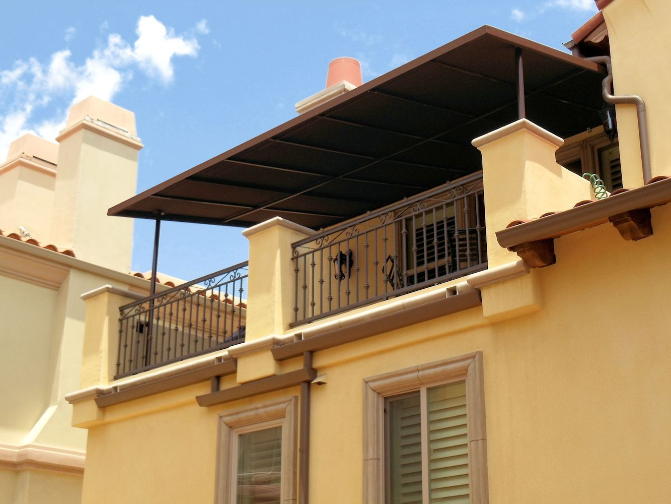 Patio Covers Canopies And Outdoor Shades By Superior Awning Covered Patio Patio Canvas Patio Covers