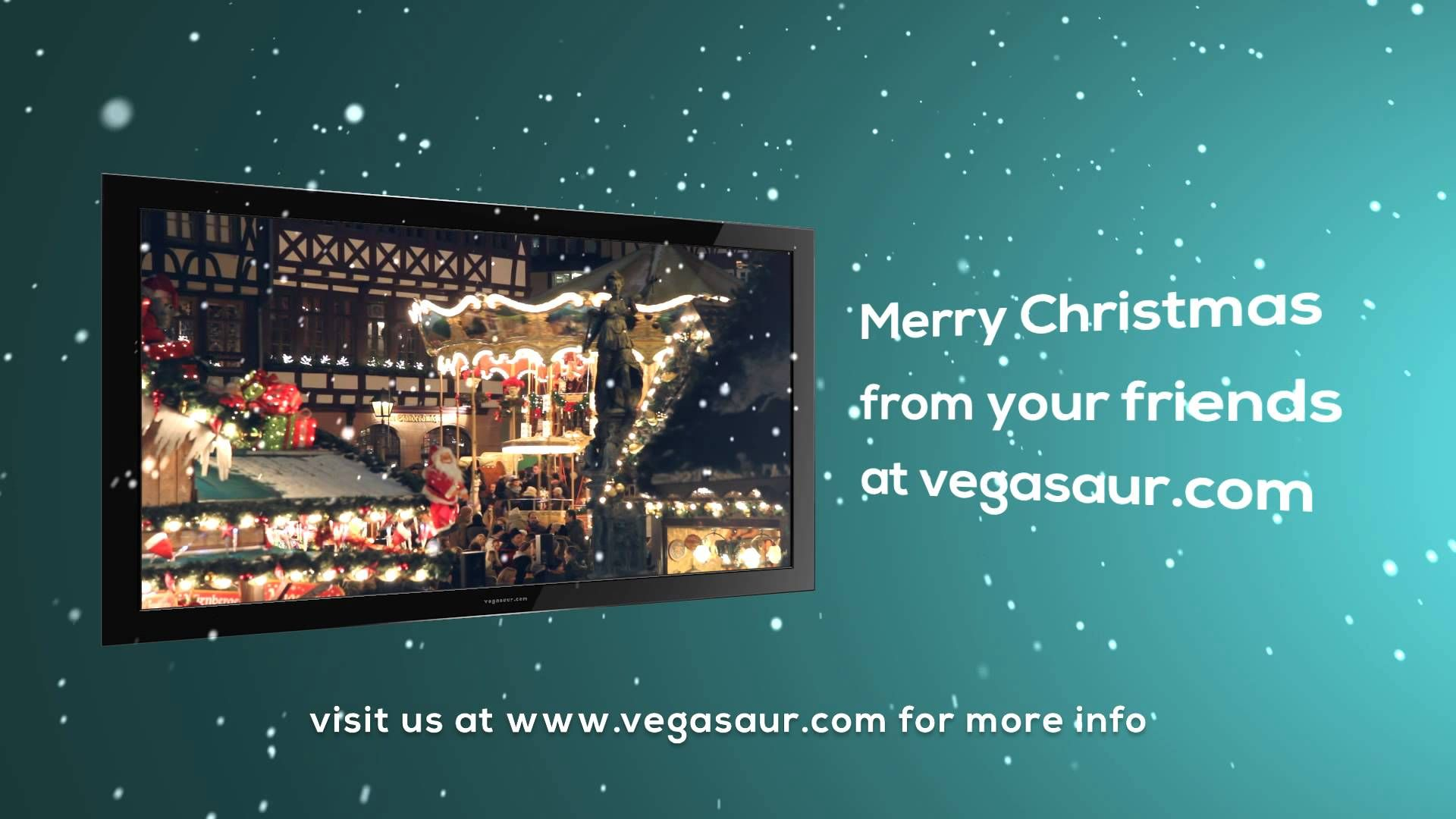 "free template ""christmas tv"" | sony vegas templates | pinterest, Powerpoint templates"