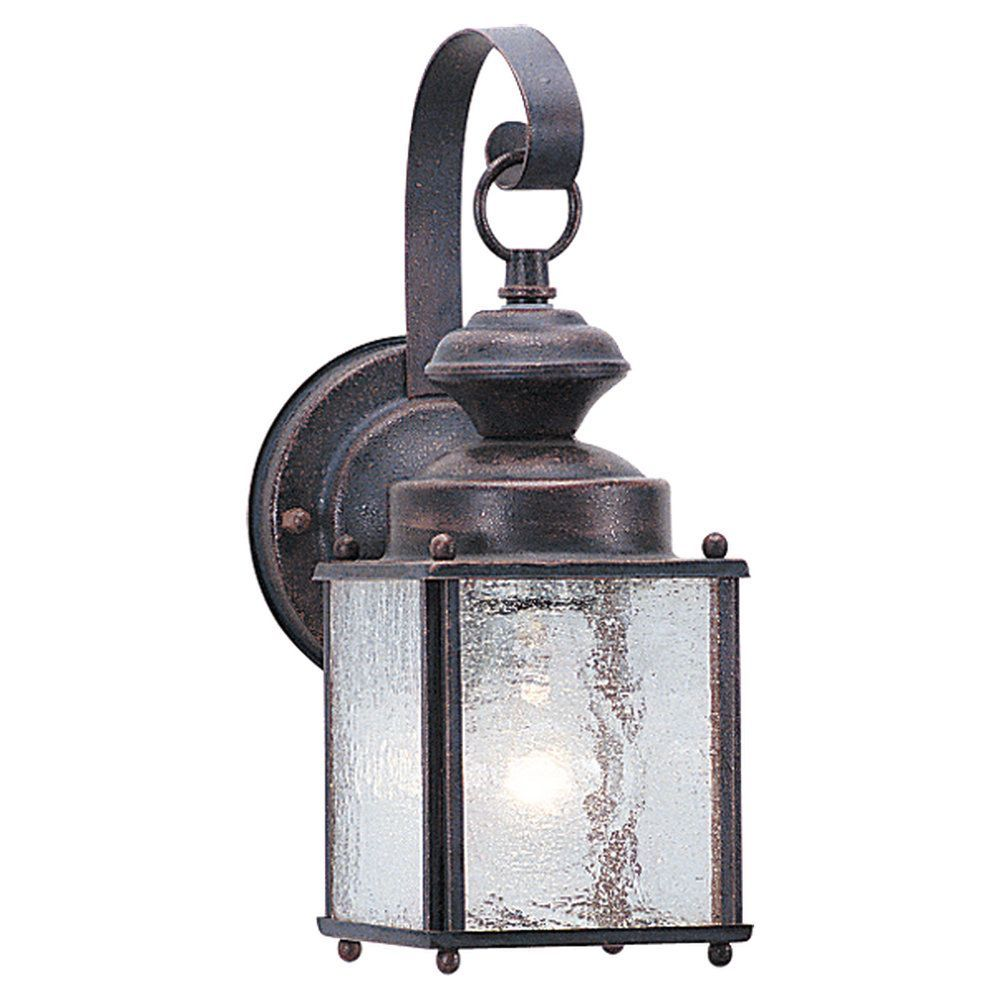 Jamestowne 1 Light Outdoor Wall Lantern By Sea Gull Lighting