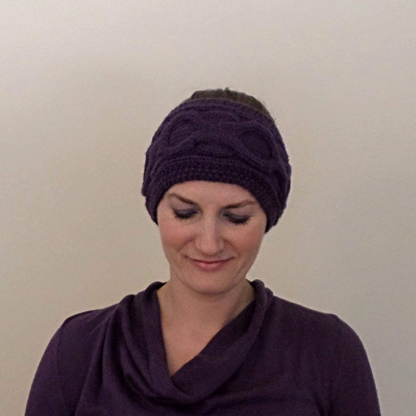 Ear Warmer, Cable Knit Headband, Ear Warmer Bands, Knitted Ear ...