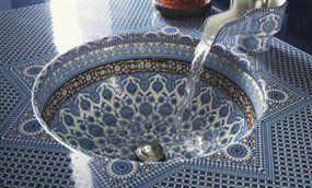 Kohler 14046-BU-96 Top Art Marrakesh Design Camber Undercounter Under Mount Bathroom Sink