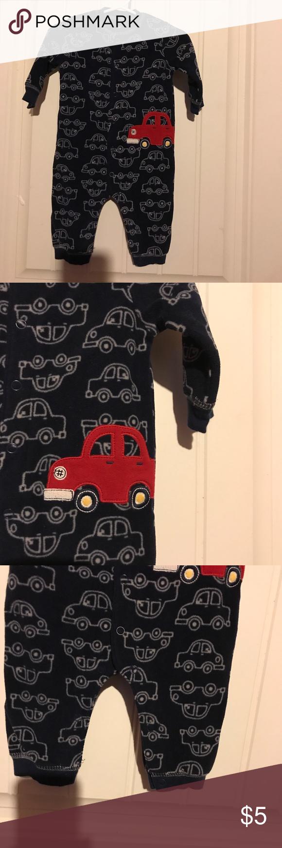 Carter S Fleece Car Amp Christmas Santa Sleepers 6m