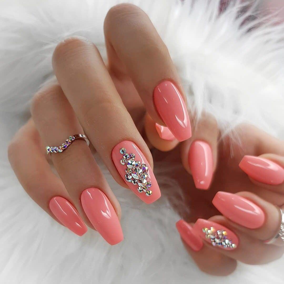 Pin by Angela Stenekes on Маникюр   Long nail designs, Coffin ...