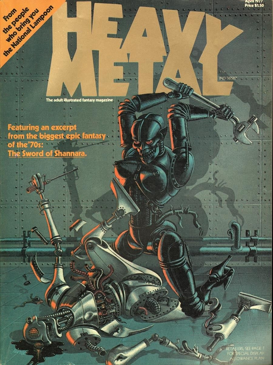 Pin On Heavy Metal Magazine