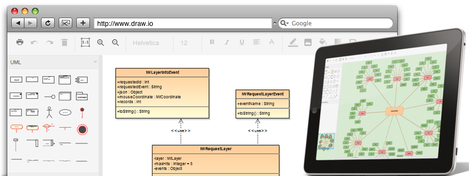 Draw Diagrams Online for Free \