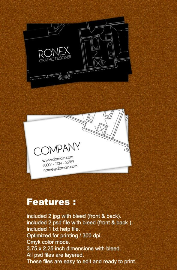 architect business cards - Google Search | business card ...