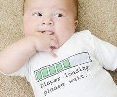 Funny baby onesie