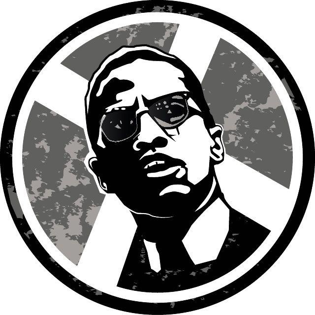 Malcolm X Illustration Free Vector   Free Vectors   Pinterest