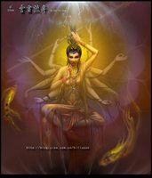 Avalokitesvara by hiliuyun
