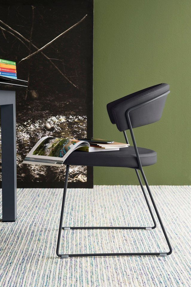 Connubia By Calligaris Stuhl New York Cb1022 Lh Stuhle Stuhl Metall Lederstuhle