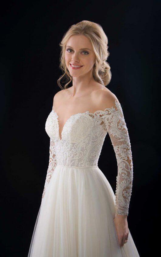 2160832d5a9a Caleb + Scout Boho Lace Wedding Dress Separates by Martina Liana
