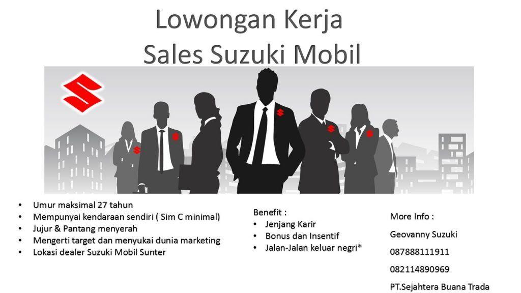 Lowongan Pekerjaan Sales Mobil Suzuki Di Jakarta Utara Marketing