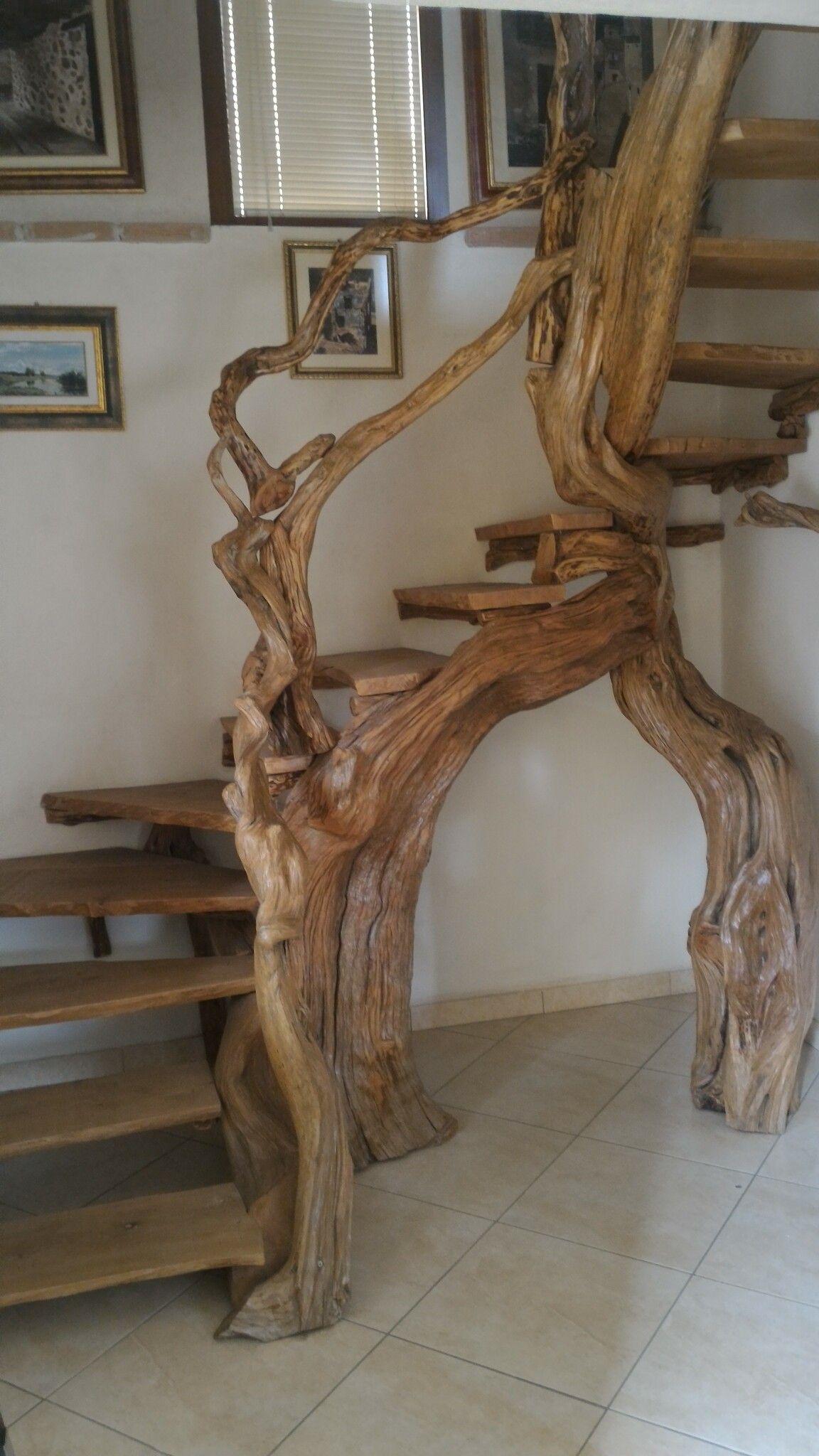 Ringhiera Scala Fai Da Te scala fai da te con legno di ginepro e spiccate capacità