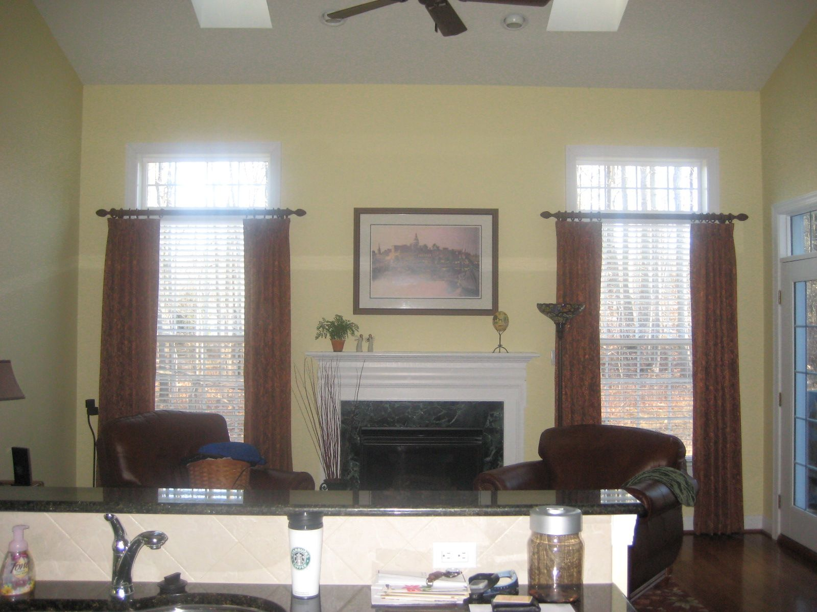 Transom window treatments google search window for Custom transom