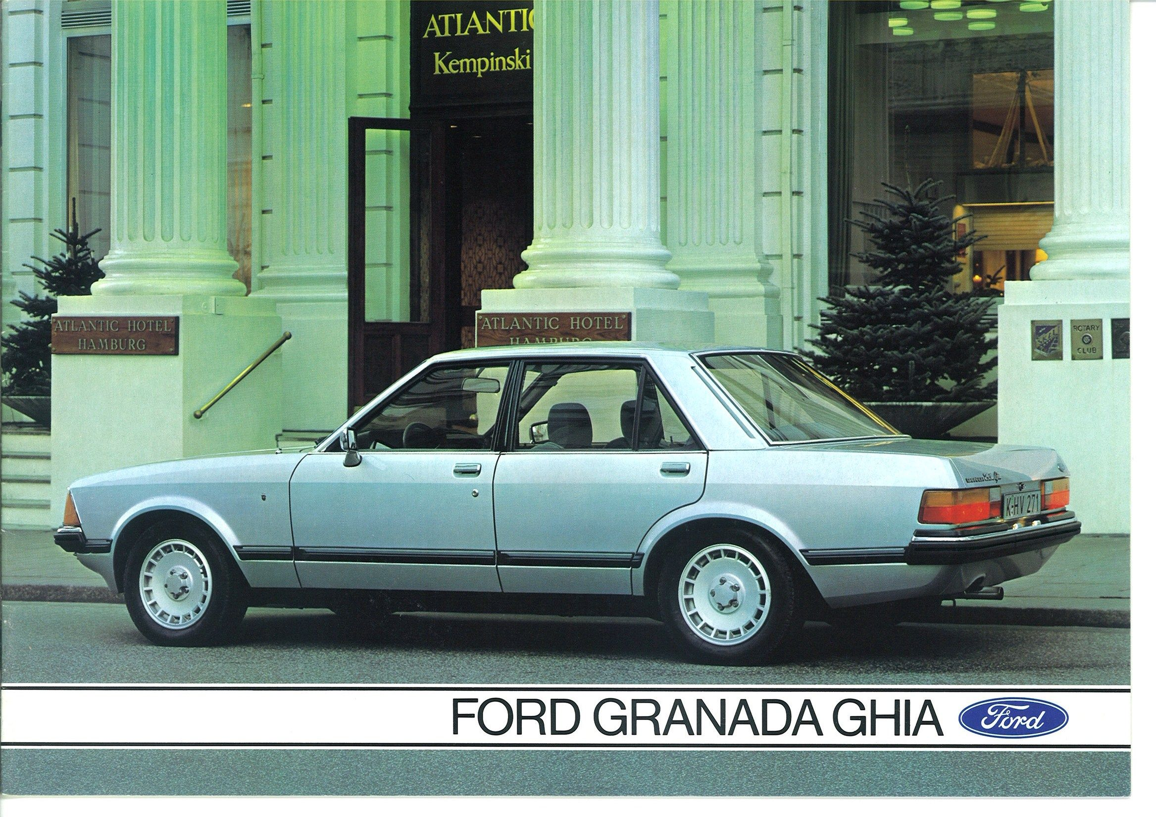 1981 Ford Granada Ghia 2 8i Ford Granada Ford Police British Cars