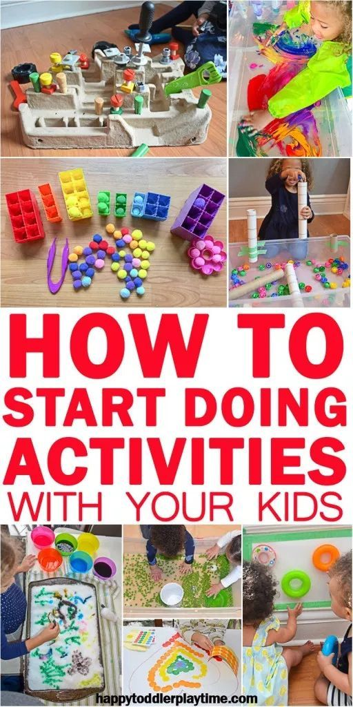 How to Start Doing Kid Activities! - HAPPY TODDLER PLAYTIME