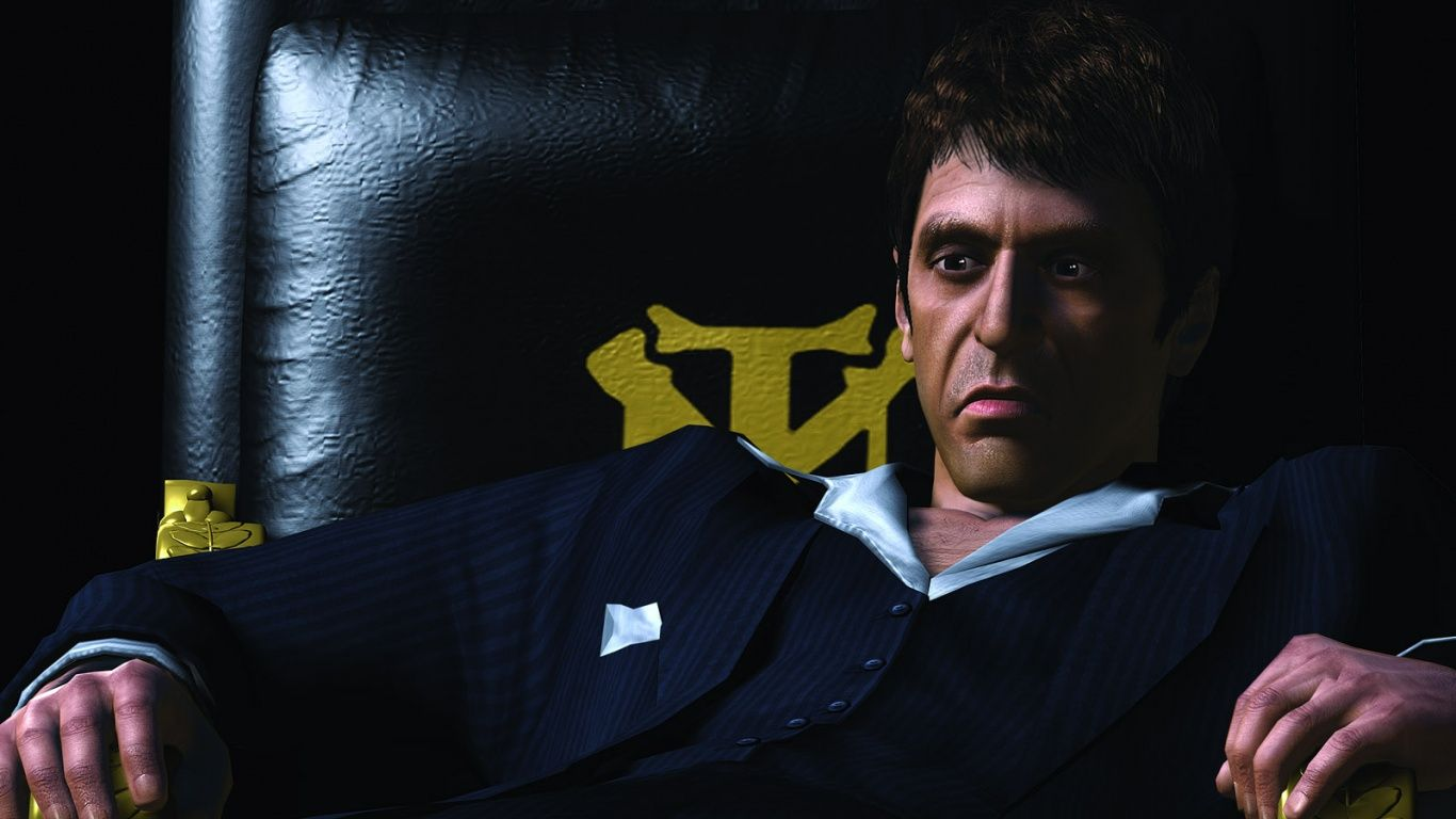 1366x768 Scarface The World is Yours desktop PC and Mac