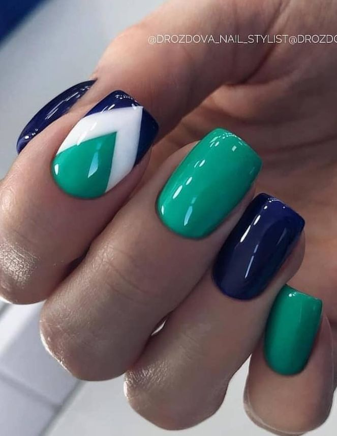 30 Amazing Natural Summer Square Nails Design For Short Nails – Page 21 of 30 …