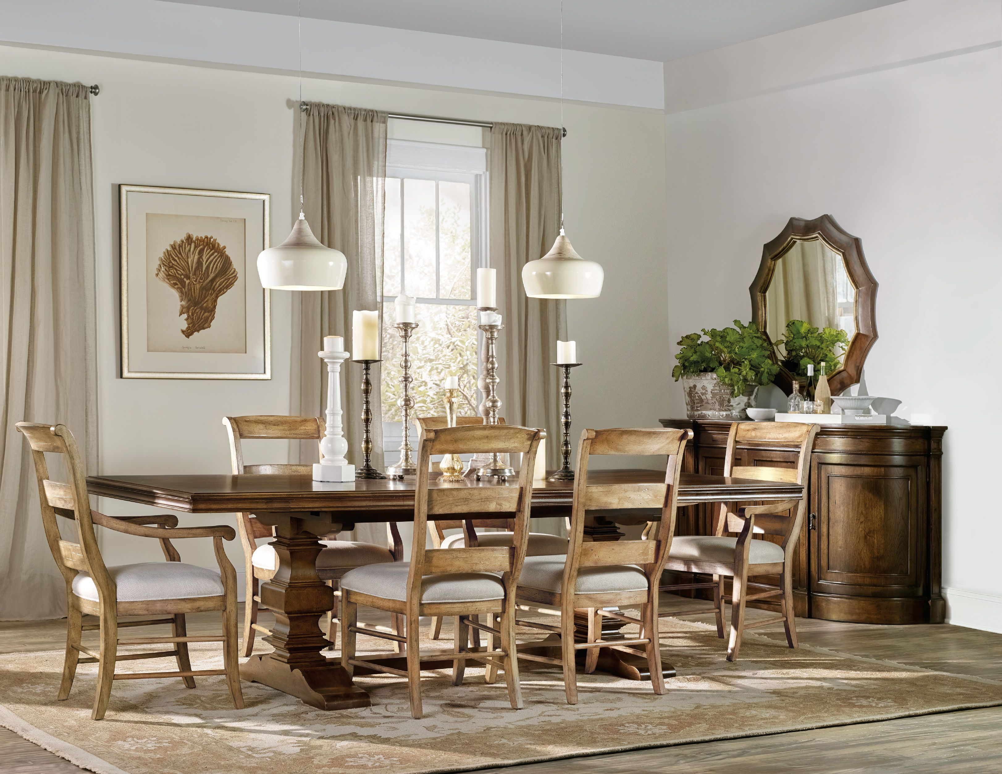 Archivist Trestle Table W 2 18in Leaves