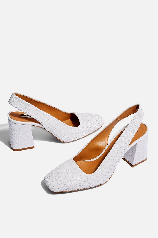 d9812e1832b Gainor Slingback Heels - Topshop USA Slingback Shoes