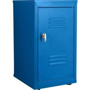 buy small metal locker blue at your online. Black Bedroom Furniture Sets. Home Design Ideas