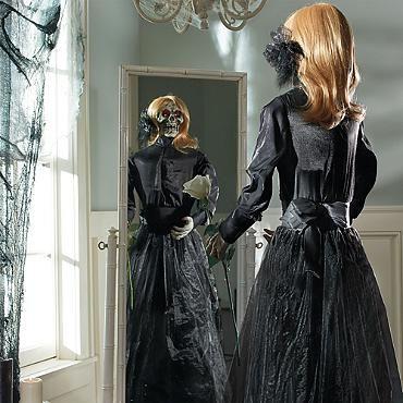 Animated Head Turning Tara Grandin Road Grandin Road Halloween Gorgeous Gowns Turn Ons