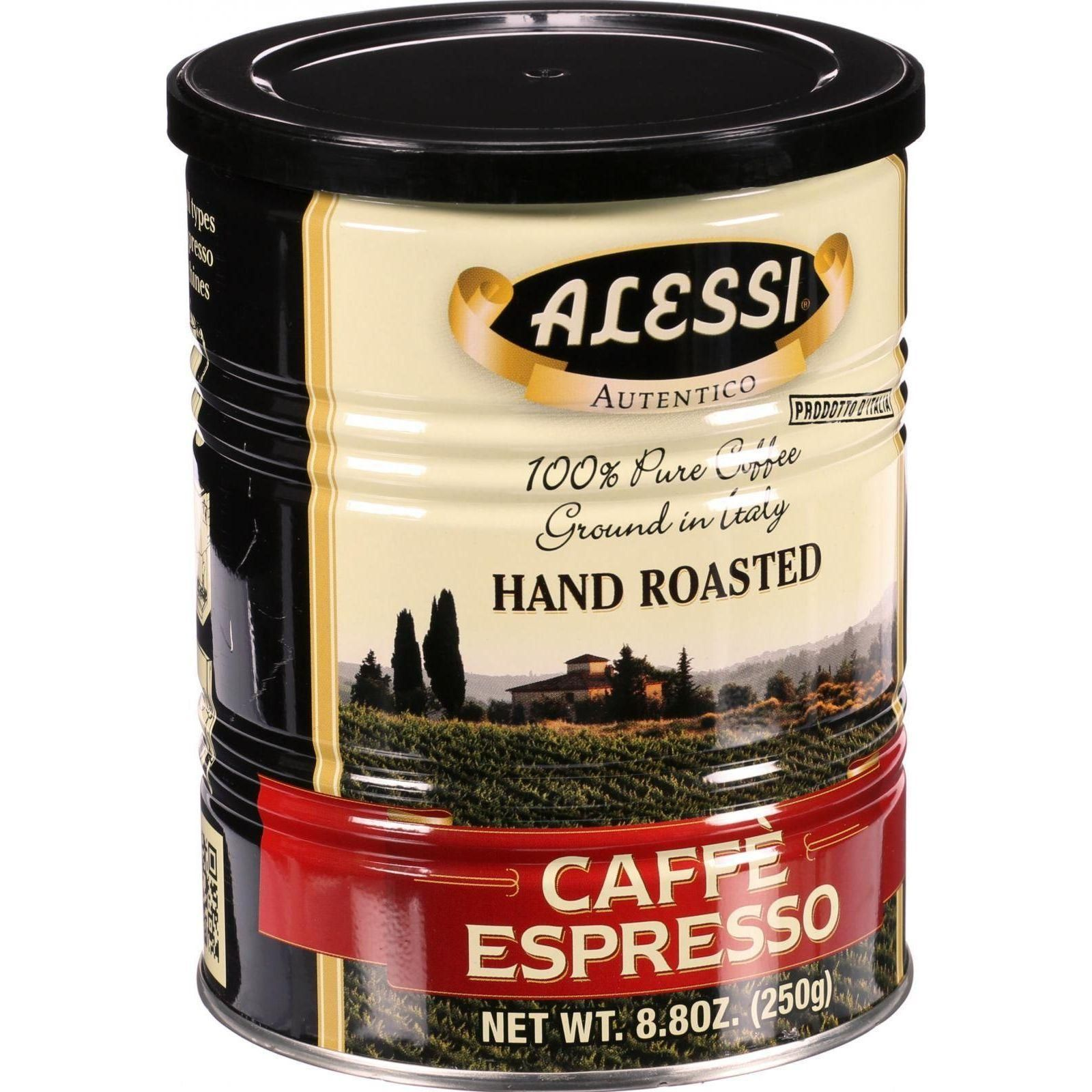 Alessi Caffe Espresso Is Made From The Finest Hand-roasted